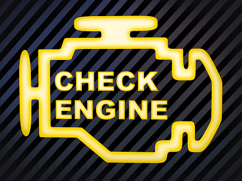 Check engine light BMW