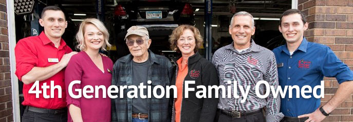 Fourth Generation Family Owned Auto Repair