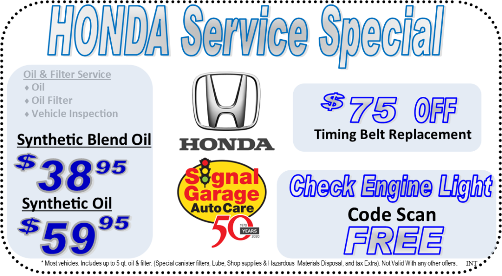 Honda Coupon