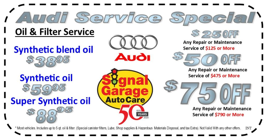 Audi Service Special