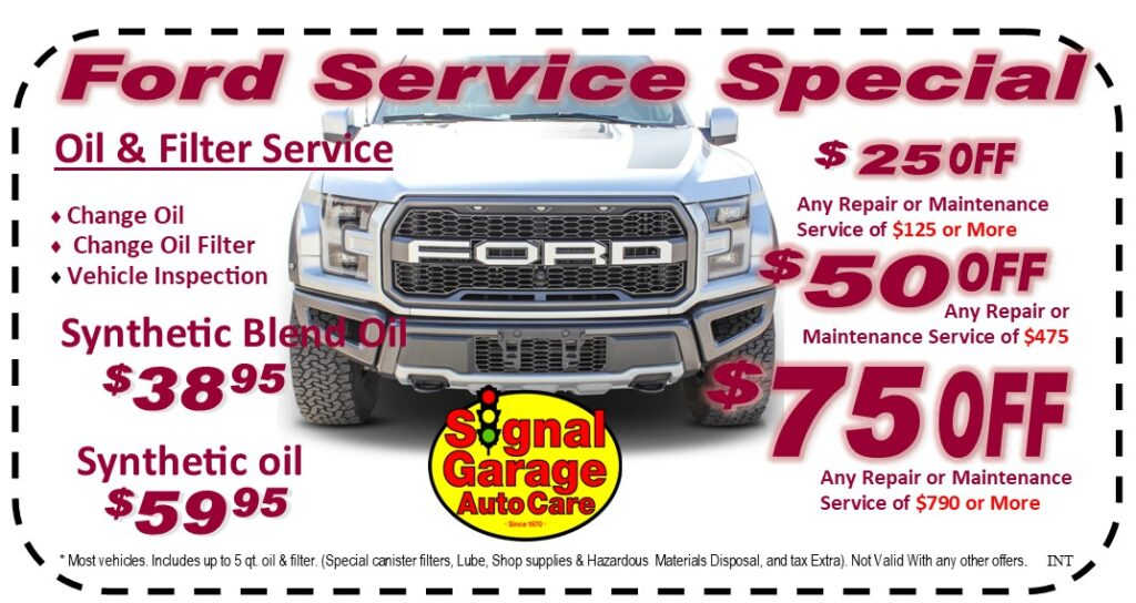 Ford Service Special